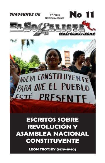 Revolucion y Asamblea Constituyente.pdf - El Socialista ...