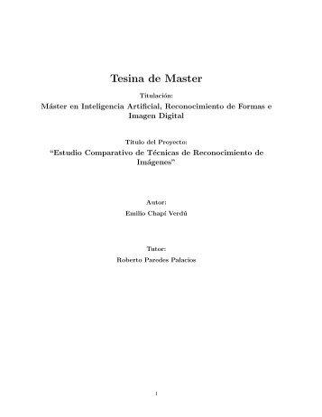 Tesina de Master - RiuNet