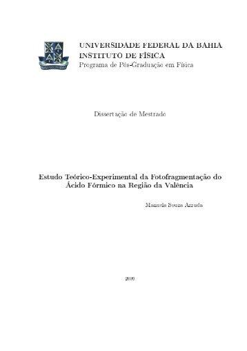 Texto Completo em PDF - Programa de Pós-Graduação em Física ...