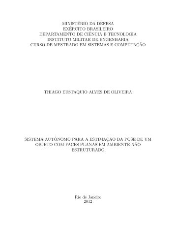 ministério da defesa exército brasileiro ... - Comp.ime.eb.br