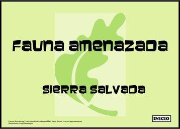 Fauna Amenazada o Singular de Sierra Salvada (4,01 ... - Bizkaia 21