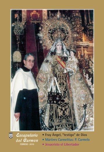 Descargar articulos de la revista Escapulario del Carmen Febrero ...