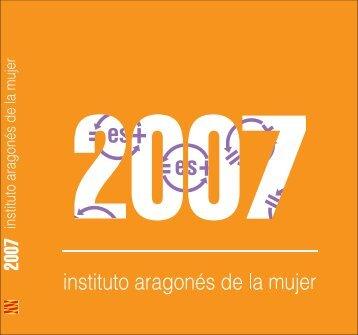 Memoria IAM 2007.pdf - Gobierno de Aragón