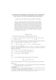 CONTINUOUS DEPENDENCE ESTIMATES FOR ... - NTNU