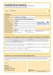 Gebäude - Deutsche Reihenhaus AG
