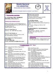 Abril de 2005 - CVX Argentina