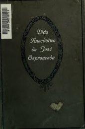 José de Espronceda, biografía anecdótica;