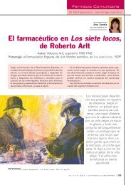 El farmacéutico en Los siete locos, de Roberto Arlt - ifarcom