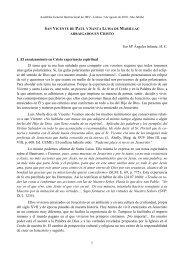 1 Sor Mª Ángeles Infante, HC 1. El enraizamiento en Cristo ... - J. M. V.