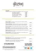 Entradas• Frituras Gohan Arroz al vapor / Shari Arroz de ... - Hoshi - Page 3