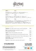 Entradas• Frituras Gohan Arroz al vapor / Shari Arroz de ... - Hoshi - Page 6