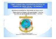 como lograr una cooperativa exitosa en tiempos de crisis social y ...