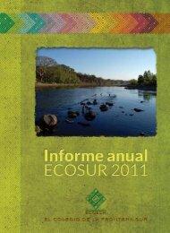 Informe Anual 2011 - El Colegio de la Frontera Sur