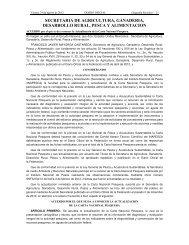 Carta Nacional Pesquera 2012 - Inapesca