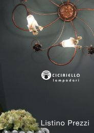 Lighting Collection - Ciciriello Lampadari