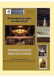 Especial Santa Maria de la Cabeza Septiembre 2012 - Real, Muy ...
