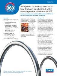Folheto sobre vedações industriais SKF - SKF.com