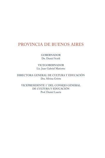 Descargar - Dirección General de Cultura y Educación