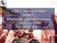 Enseñanzas para los Discípulos - Iglesia Biblica Bautista de ...