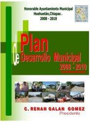 h. ayuntamiento municipal de huehuetan. - Orden Jurídico Nacional