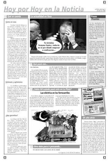 Hoy por Hoy en la Noticia - Diario Hoy