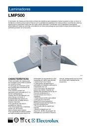 LMP500 - Electrolux