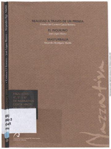 Finalistas 4º,5º,6º de Narrativa Corta Hnos. Millares Cubas 2008