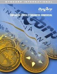código de ética y conducta comercial - DynCorp International