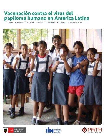 Vacunación Contra el Virus del Papiloma Humano en ... - Path