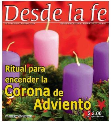 Ritual para encender la - Centro Católico Multimedial