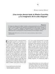Una monja descarriada - Revista Fuentes Humanísticas
