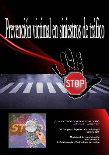 Prevención victimal en siniestros de tráfico - Juan Antonio Carreras ...