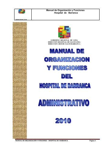 MOF Hospital Barranca