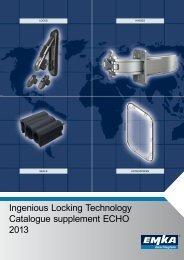 Catalogue supplement ECHO 2013 - Ingenious Locking Technology ...