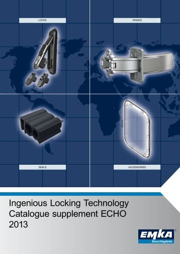 Catalogue supplement ECHO 2013 - Ingenious Locking Technology ...