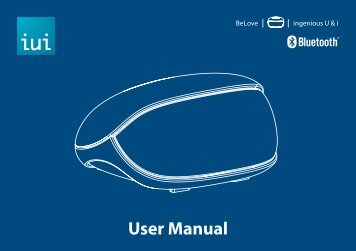 BeLove User Manual - iUi Design