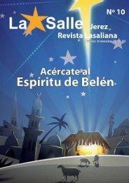 revista lasaliana primer trimestre curso 2010/2011