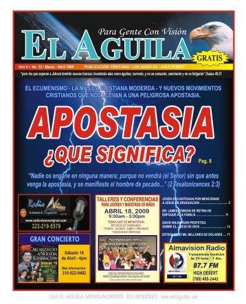 La Apostasia Revista Cristiana marzo abril 2009.pdf - Cristianos