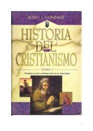 Historia del Cristianismo II - iglesia evangélica el olivo