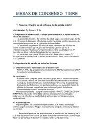 Nuevos criterios en el enfoque de la pareja infértil - SOGBA