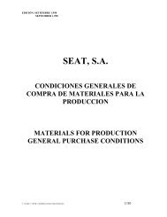 materials for production general purchase conditions - VW Group ...