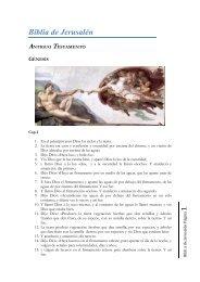 biblia de jerusalen (pdf) - Tu Fe Católica