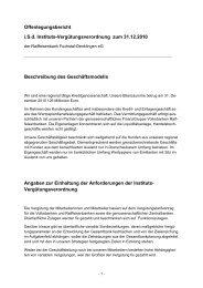 Offenlegungsbericht iSd Instituts-Vergütungsverordnung zum 31.12 ...
