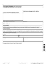 SEPA Basislastschrift Vereinbarung