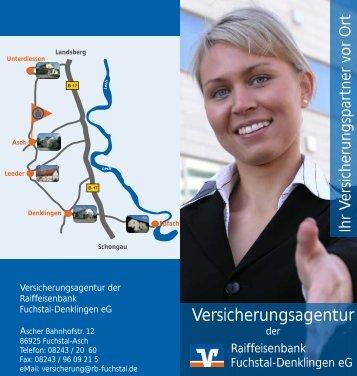 Versicherungsagentur - Raiffeisenbank Fuchstal-Denklingen eG