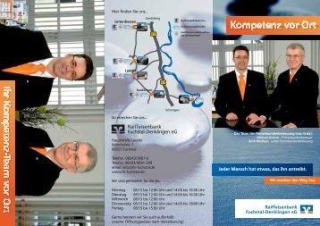 Firmenkunden - Raiffeisenbank Fuchstal-Denklingen eG