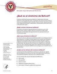 ¿Qué es el síndrome de Behcet?