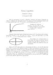 Curvas e Superfícies em pdf