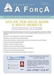 informativo - AFA-PR