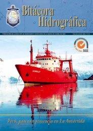 bitacora hidrografica n°05 junio 2009 - Dirección de Hidrografía y ...